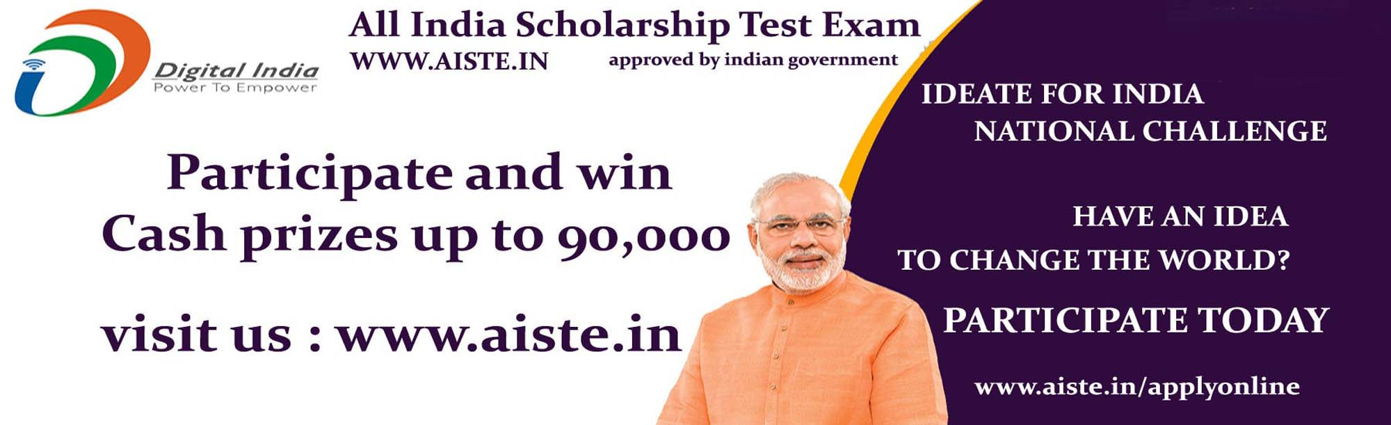PARTICIPATE TODAY SCHOLARSHIP